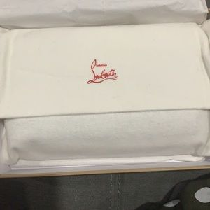 Brand New Macaron Louboutin Wallet